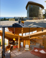 You want to stay on a boat, but without the effects of being on one, then this house in Chile is for you. https://www.airbnb.com/rooms/1361072?s=8