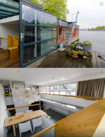 Houseboats are very common in Amsterdam and now you can stay in one! Isn't this place just perfect? https://www.airbnb.com/rooms/1079499?s=8